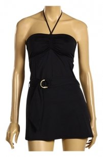Juicy Couture Juicy Couture black belted coverup