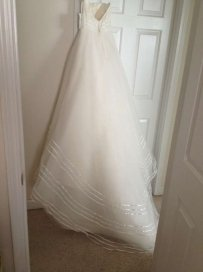 Lazaro 3505 Wedding Dress