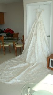 Michaelangelo V8757 Wedding Dress