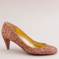 J. Crew Starlight Sylvia Heels Size 9 Wedding Shoes