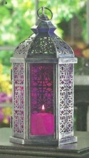 Lot Of 5 Moroccan Purple Lanterns Free