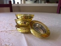 Small Gold Candleholder