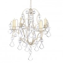 Ivory Baroque Chandelier New