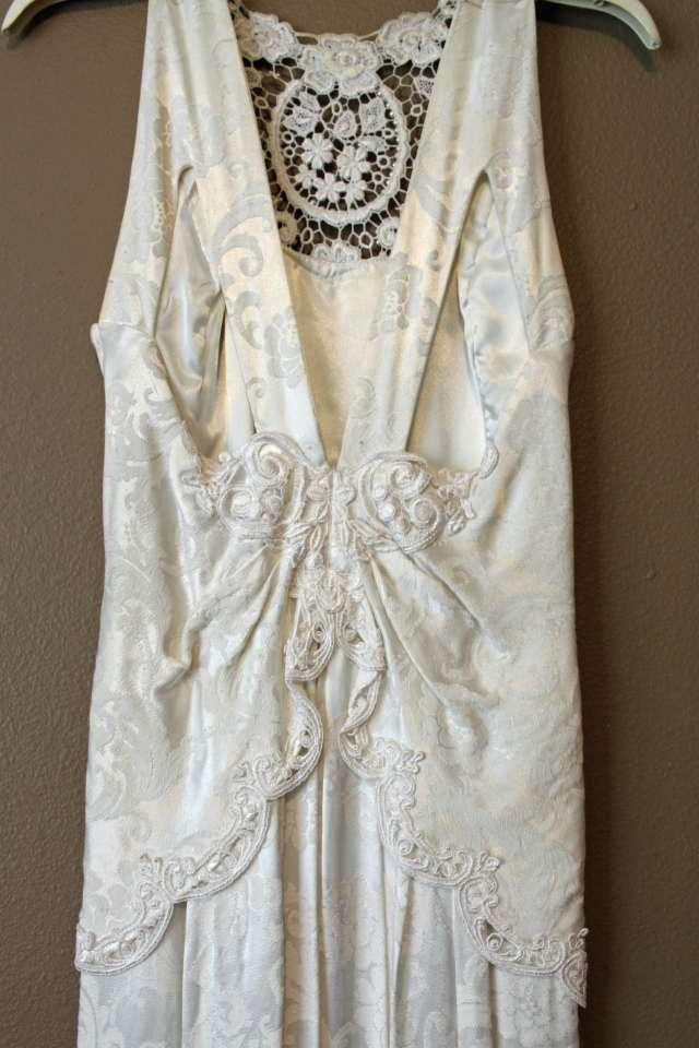 Jessica mcclintock formal dress ivory long 69 off for Jessica mcclintock wedding dresses outlet