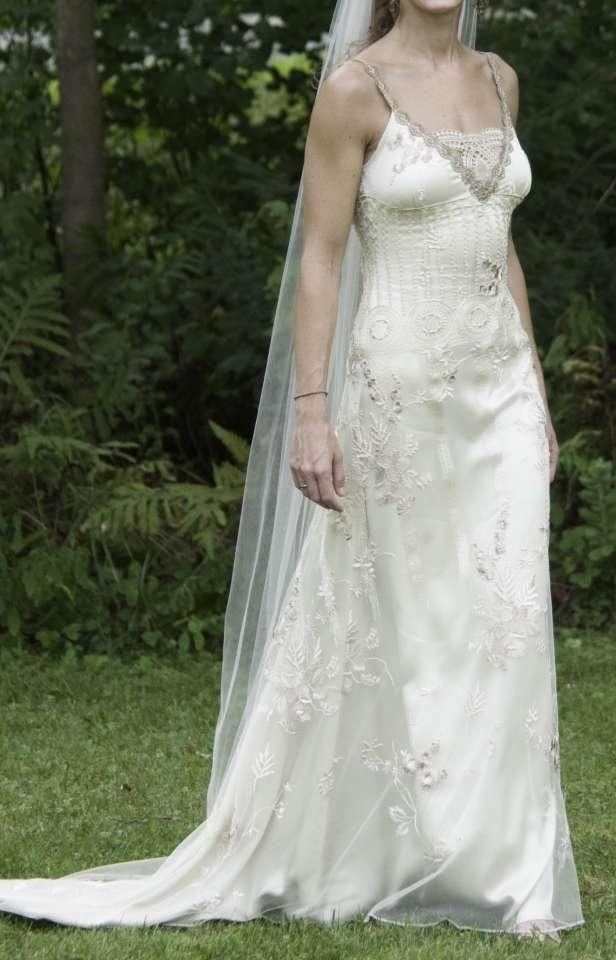 Claire pettibone midnight wedding dress tradesy weddings for Where to buy claire pettibone wedding dress