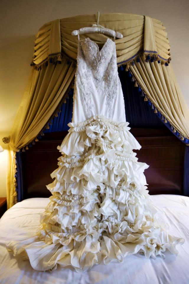 custom made baracci haute couture beverly hills wedding dress tradesy weddings. Black Bedroom Furniture Sets. Home Design Ideas