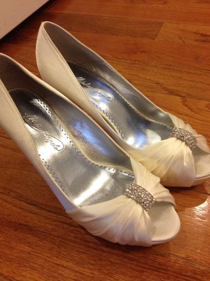 david bridal wedding shoes david s bridal diana ivory wedding shoes tradesy weddings 3314