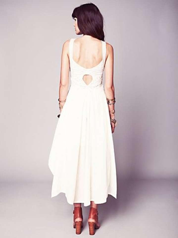 Free people swept away dress wedding dress for Sell your wedding dress online for free