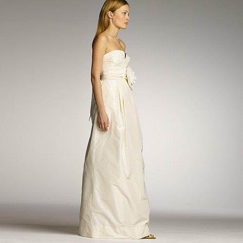 J crew sascha gown wedding dress tradesy weddings for J crew wedding dresses