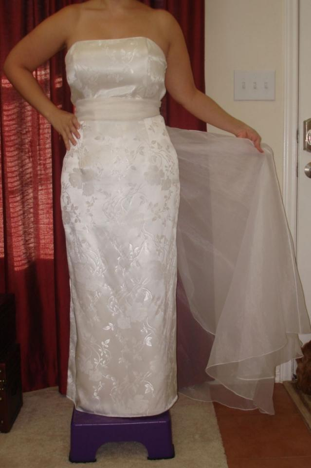 Mc clintock wedding dresses for Jessica mcclintock wedding dresses outlet