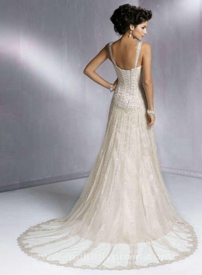Maggie sottero wedding dresses gatsby wedding dresses asian for The great gatsby wedding dresses