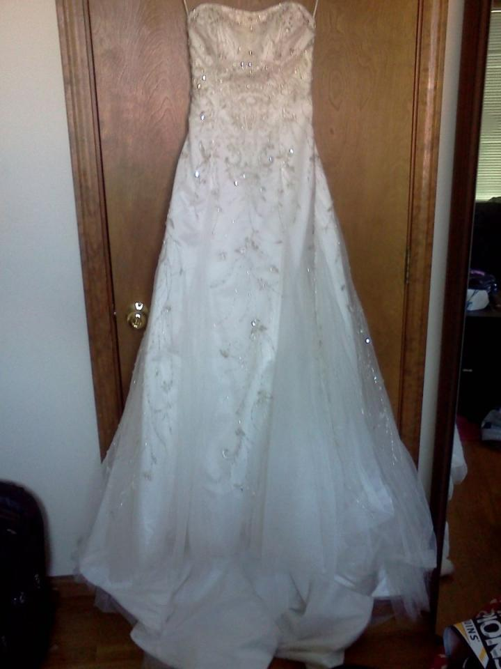 Beautiful fitted dress wedding dress tradesy weddings for Beautiful fitted wedding dresses