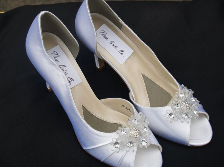 Where To Get White Satin Shoes Cleaned