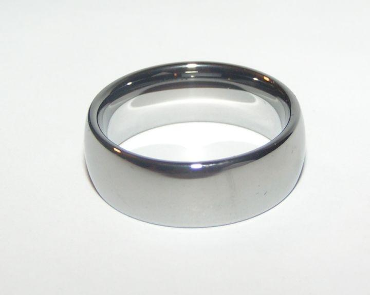 Simple Tungsten Wide Band Wedding Set Free Shipping