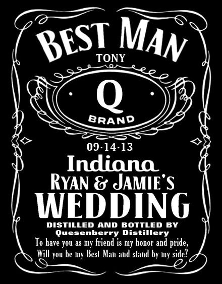 personalized label design in jack daniels style tradesy