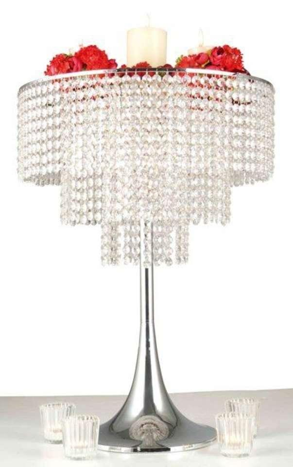10 crystal centerpieces brand new never used three tier crystal chandelier centerpieces. Black Bedroom Furniture Sets. Home Design Ideas