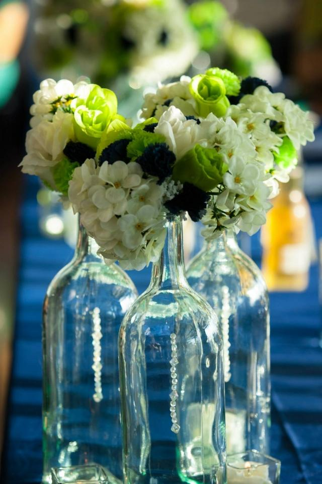 301 moved permanently Wine bottle wedding centerpieces