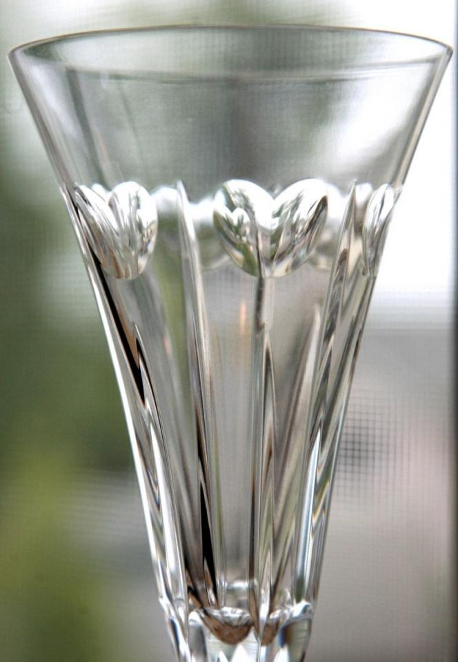 Waterford Crystal Toasting Flutes Limited Hearts 25 Off Tradesy Weddings