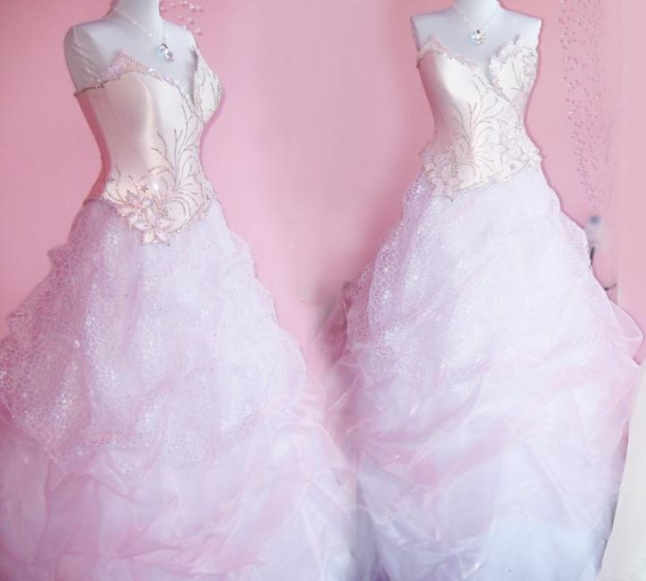Pink Bride Dresses Mother of the Ice