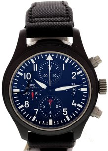 IWC Mens Iwc Pilots Watch Ceramic Watch W Service Papers Wuq1w6