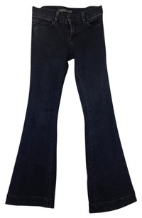 J Brand Bell Bottom Wash Flare Leg Jeans-Dark Rinse