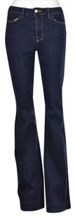 J Brand The Doll Womens Blue Flare Leg Jeans