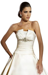 Jacquelin Exclusive House Of Wu - White 19862 - New- Not Sample Wedding Dress