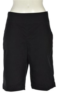 Jag Jeans Womens Casual Stretchy Cropped Trousers Pants Shorts Black