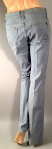 James Jeans James Preserved Denim Gray Blue Flare Leg Jeans