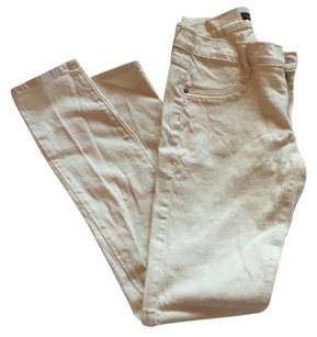 James Jeans Skinny Pants Cream