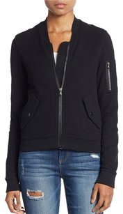 James Perse James Fleece Bomber Sweater
