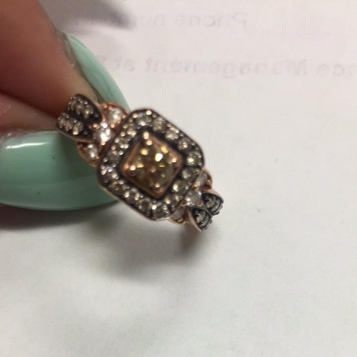Jared Le Vian Chocolate Diamond Ring Tradesy