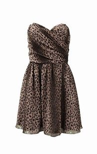 Jay Godfrey short dress Brown black on Tradesy