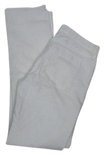 J.Crew Cream Solid Matchstick Stretchy 6134a Boot Cut Jeans
