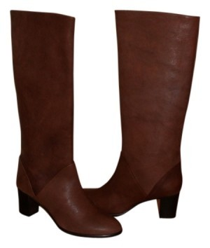 J.Crew 28672 Brownstone Name: Sutton Mid-heel Leather Style #: 28672 J.Crew Boots/Booties Size US 7.5 02eaa5