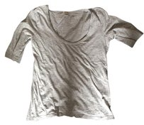 J.Crew Cotton T Shirt Gray