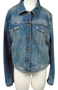 J.Crew Crew Indigo Denim Cotton Womens Jean Jacket