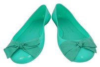 J.Crew Womens Jelly Casual Rubber Mint Green Flats