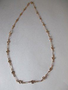 J.Crew Lot Of J.crew Gold Lux Layer Necklace Link Knot Layering Necklace