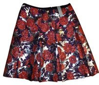 J.Crew Skirt Purple, silver, red, black,