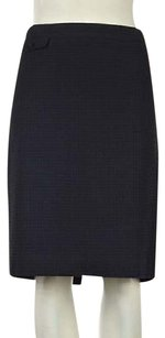 J.Crew J Crew Womens Navy Textured Skirt Blue
