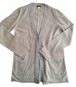 J.Crew Wool Striped Longsleeve Cardigan