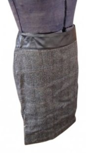 Jean Colonna Skirt Black Tweed