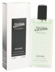 Jean-Paul Gaultier MONSIEUR EAU DU MATIN ~ Friction Parfumee Invigorating Fragrance 3.3oz