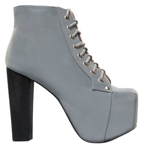 Jeffrey Campbell Gray Boots