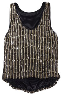 Jen Kao Bead Embellished Heavy High Rbk Top