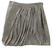 Jenni Kayne Lame Mini Jk Skirt