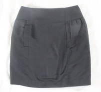 Jenni Kayne Sooo Darn Silk Mini Skirt Blacks
