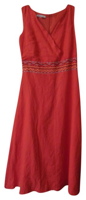 Red Maxi Dress by Jennifer Eden