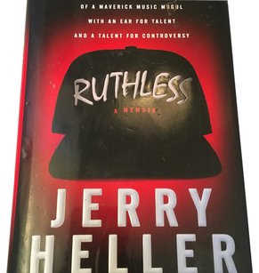 Jerry Heller Collectible Autographed Copy of Ruthless: A Memoir Hardcover